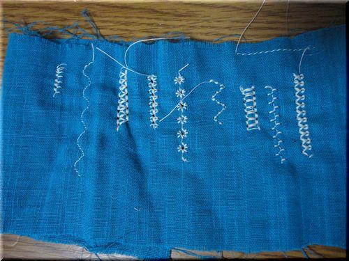 ミシン模様縫い