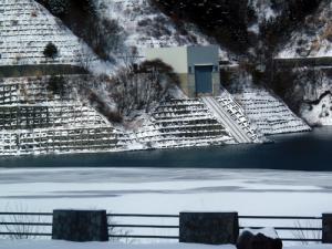 湖面の結氷