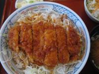 食 ソースかつ丼 091127_cIMG_6271