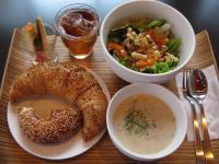食 スープとサラダ 091221_cIMG_6861