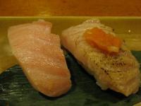 食 大トロ握り(都寿司) 100106_cIMG_7097