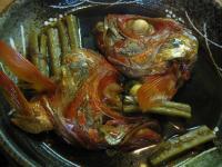 食 キンメの兜煮(上乃家) 100130_cIMG_7281