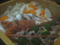 食 海鮮蒸し(上乃家) 100221_cIMG_7728