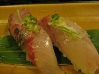 食 鯵の握り(都寿司) 100227_cIMG_7812