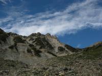 岳 白馬岳 大雪渓を抜けて天狗の頭 100925_cIMG_3245