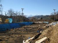 歴 殿村遺跡第一地点と常念岳 081216_cIMG_6603