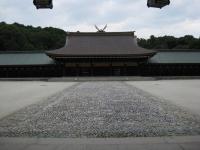 歴 橿原神宮 外拝殿から内拝殿 101008_cIMG_4075