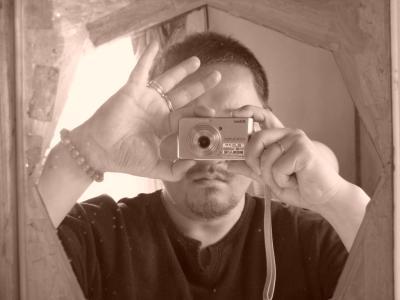 鏡の中のコテチ
