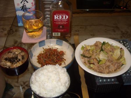 メタボ晩飯コテチ定食①