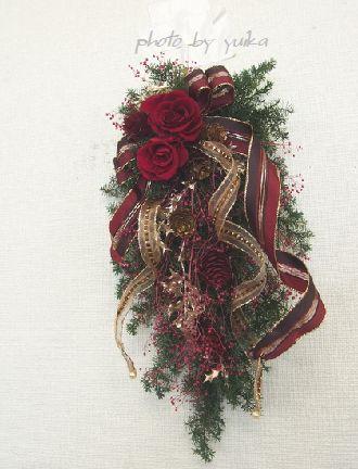 クリスマスリース1123-1