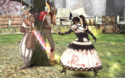 Granado Espada - 桜の木の下で見