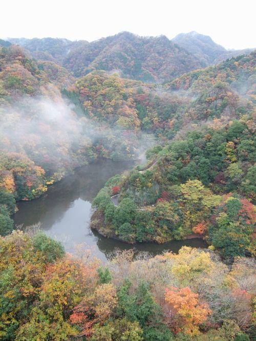 竜神ダム湖