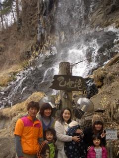 乙女滝にて