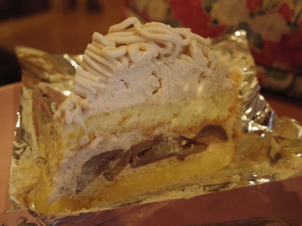 くりのケーキ