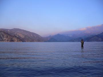 中禅寺湖(朝)