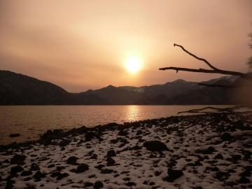 中禅寺湖(夕)