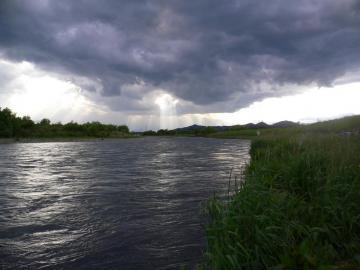 鬼怒川増水