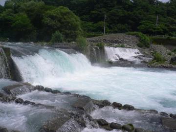 大谷川増水