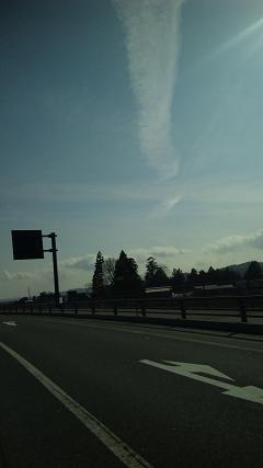 地震雲だべがぁ~