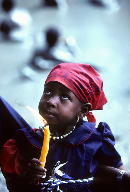 haiti girl plays