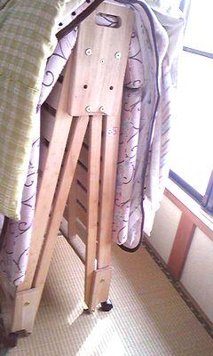 木製折りたたみひのきベッド