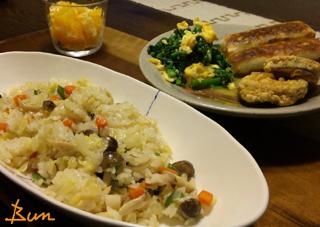 Apr16_野菜炒飯