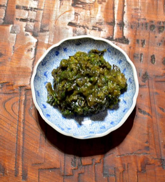 甘味噌油炒め