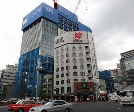 銀座一の高いビル