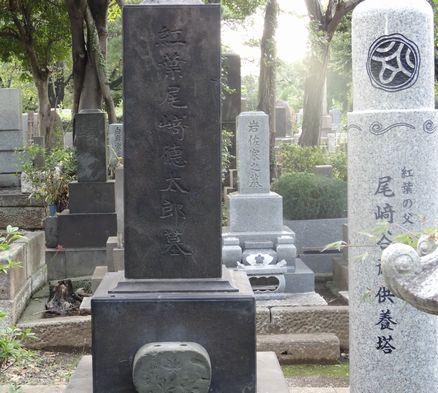 谷斎の供養碑