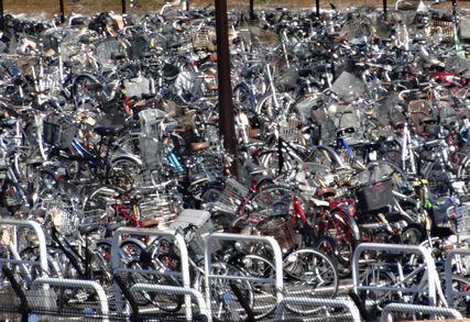 撤去自転車