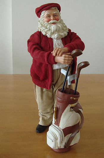 ゴルフ大好き!サンタさん