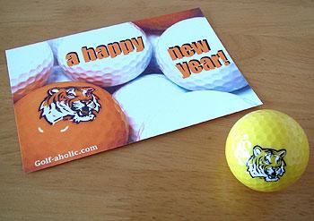 2010 虎 ゴルフボール!