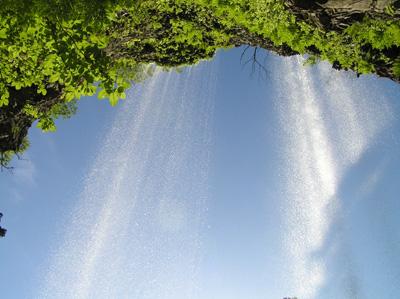 壇鏡の滝2