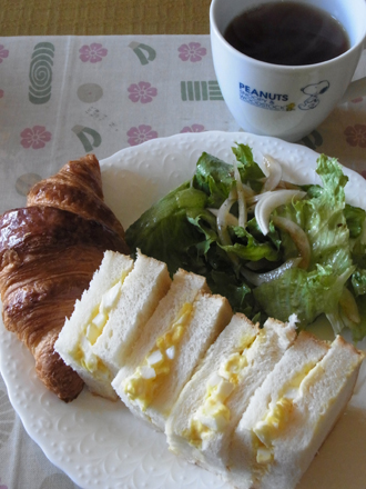 2卵サンドランチ