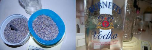 Lavender-infused vodka