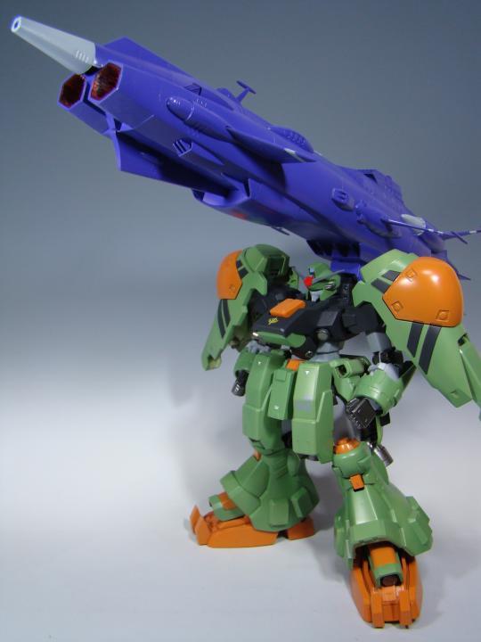 ①大砲コンメイン画像(MS本体+大砲)