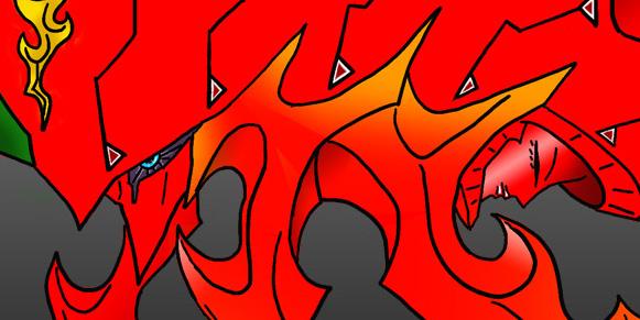 Flame Knight Ver1.5 顔アップ