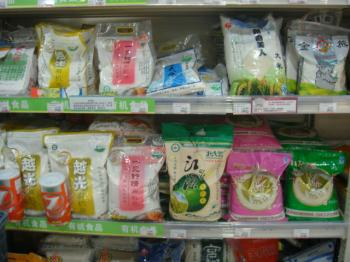 中国ジャスコの米