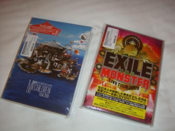 ミスチル、EXILE DVD