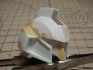 SD・Sガン頭部形状出し1