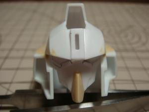 SD・Sガン頭部形状出し3