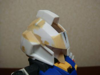 頭部形状出しTake2