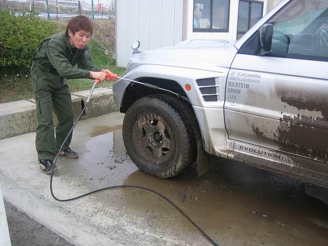洗車は楽しい?