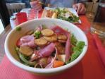 ハムとポテトのサラダ