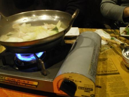 ゆず塩鶏鍋