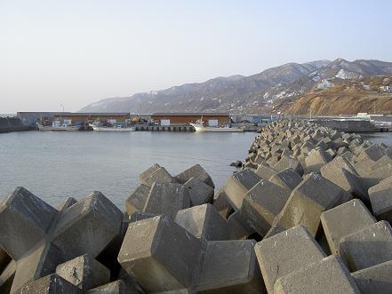 港内のブロック