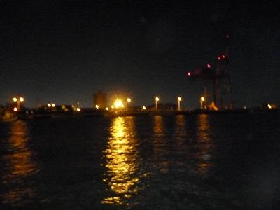 港の明かり