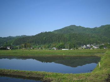 里美の田園風景