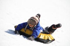 白川郷 白真弓 スキー練習
