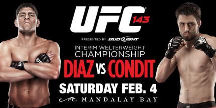 UFC-143 ニック・ディアズ カーロス・コンディット